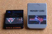 Etiquetas de tarjeta de memoria de PlayStation