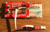 Placa de desarrollo para microcontrolador Attiny84