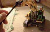 Cómo hacer su grúa motorizada Lego poder utilizar diversos accesorios