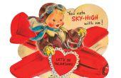 Día de San Valentín Vintage tarjeta