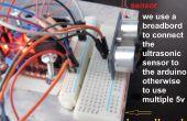 Robot de obstáculos evitando L298N puente H doble controlador Motor y sensor ultrasónico