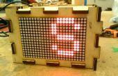 Generador de código Morse para la 16 x 24 HT1632C LED Matrix-hice en TechShop