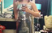 Falda y camiseta de la cinta del conducto