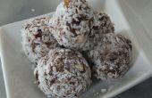 Las picaduras de alimentación de coco