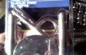 """Cómo instalar """"Automotriz Hood Pins"""" a una campana de fábrica acero"""