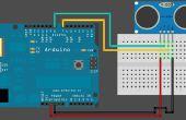 Contador de objeto Arduino Sonar