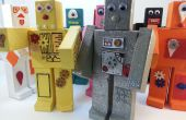 Roblocknics - Robots de madera magnéticos