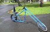 Construir una bicicleta de montaña amplia medida eje