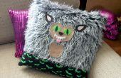 Hombre lobo DIY Throw Pillow