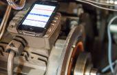 Equilibrio dinámico Motor - Sugru y un iPhone!