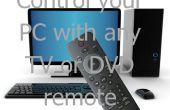 Controla tu PC con cualquier control remoto TV o DVD