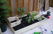 Huerto urbano de Homestead (jardinería pies cuadrados abreviado)