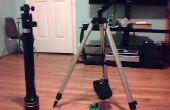 Cómo hacer un trípode desde un telescopio