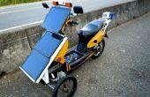 Trike eléctrico solar