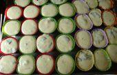 Cupcakes de tarta de queso