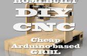 Ranurador del CNC de construcción propia (DIY) - Arduino basado (GRBL)