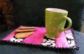Hacer una alfombra de retazos de taza