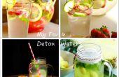 Mis Favoritos 4 fácil desintoxicación agua recetas caseras
