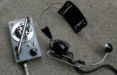 Construir un amplificador de los para un viejo micrófono de carbono