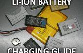 Carga de la batería de iones de litio
