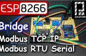 ESP8266 Puente modo Modbus RTU esclavo - esclavo de Modbus TCP IP