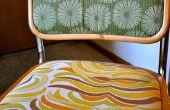 Cómo volver a tapizar sillas utilizar una engrapadora