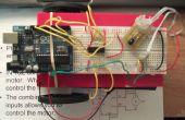 Sensor de infrarrojos guiado Arduino controlado L293D Robot (parte 2)