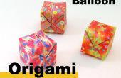 Cómo hacer Origami un globo