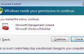 Cómo desactivar el UAC (User Account Control)