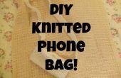 DIY bolso del teléfono de punto