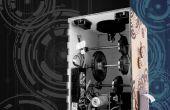 Una máquina de vapor estilo punk lotería