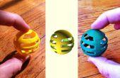 De los átomos a los bits a los átomos: aprendizaje OpenSCAD copiando un juguete de gato