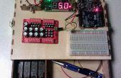 Pequeña estación experimental electrónico