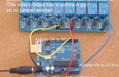 Domótica - cómo agregar relés a Arduino