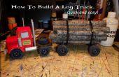 Cómo hacer un camión de registro... fácil y rápido!