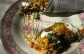 India Aloo Tikki Chaat (con Bhel)