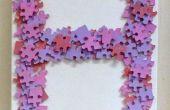 Jigsaw Puzzle monograma arte de la pared