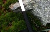 Cuchillo de supervivencia hoja de la sierra