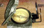 Determinar la declinación magnética local por un compás magnético