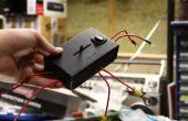 Caja universal para intermitente LED música