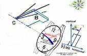 Búsqueda del norte con un reloj con mayor precisión p2