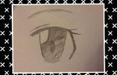 Cómo dibujar ojos Anime