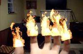 Como poner fuego en ls Maker