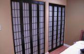 Shoji puertas de armario