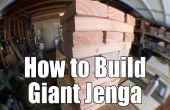 Cómo construir un juego de Jenga gigante