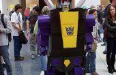 """¿Cómo hacer un Transformers: Insecticon """"Metralla"""" traje"""