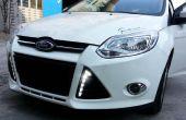 Cómo instalar luces LED de circulación diurna Ford Focus