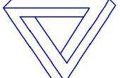Cómo dibujar el triángulo imposible