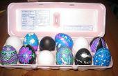 Cómo hacer tu Pascua huevo duraría para siempre! Un solo paso.