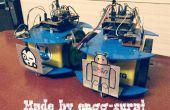 Enjambre de robots: Asamblea y cooperativa de transporte